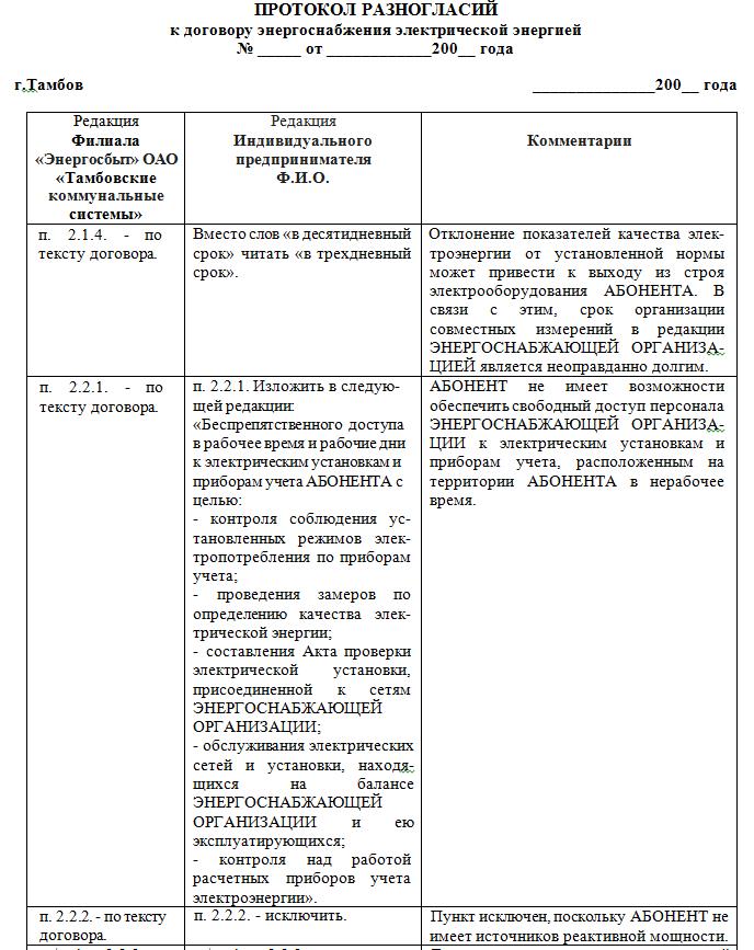 юридическая консультация по договору аренды