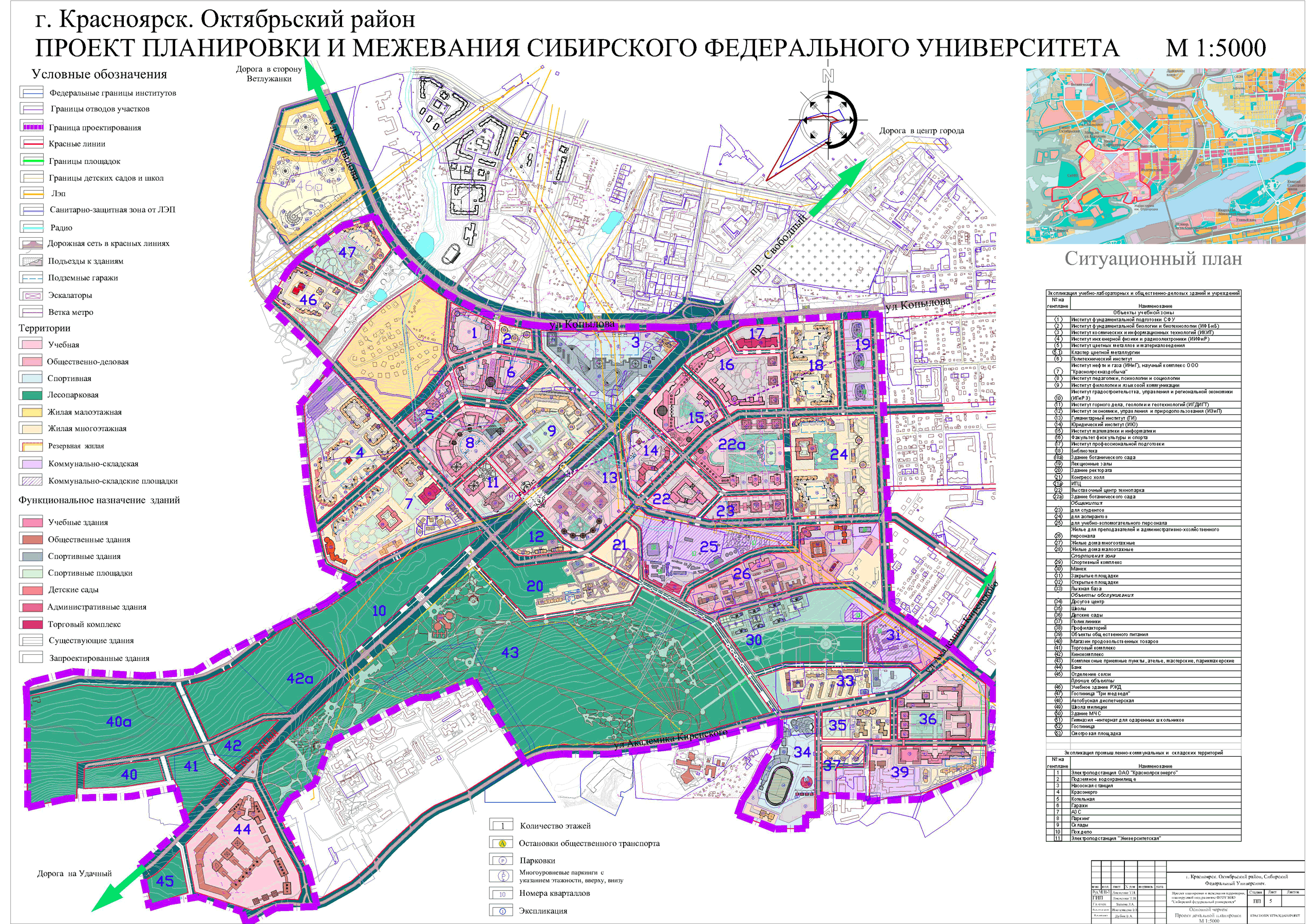 образец проекта планировки и межевания территории