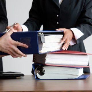 Простой образец акта приема передачи документов