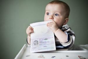 Форма №8 справка о регистрации ребенка по месту жительства