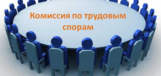 комиссия по трудовым спорам