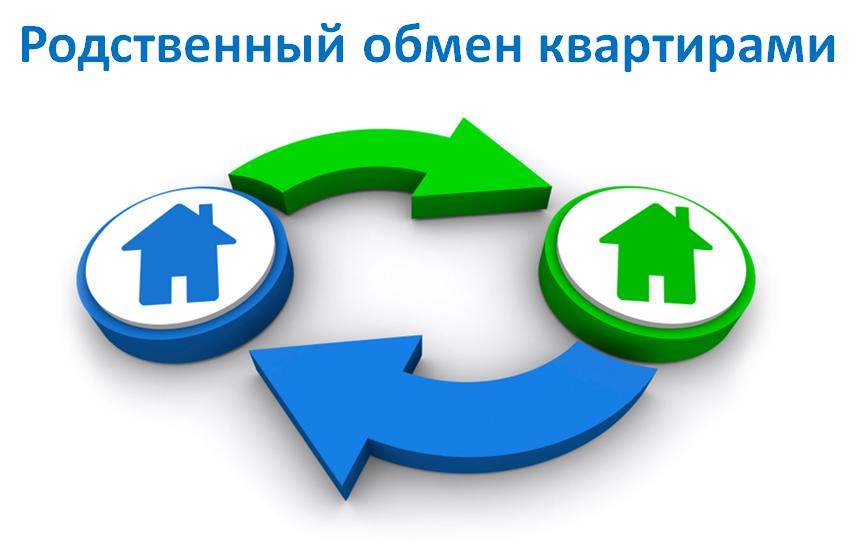 Как обменяться квартирами между родственниками