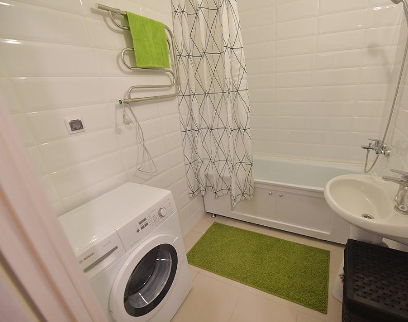 Фото пример планировки ванной комнаты