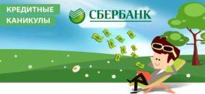 Оформление кредитных каникул в Сбербанке