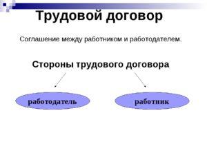 Образец составления трудового договора